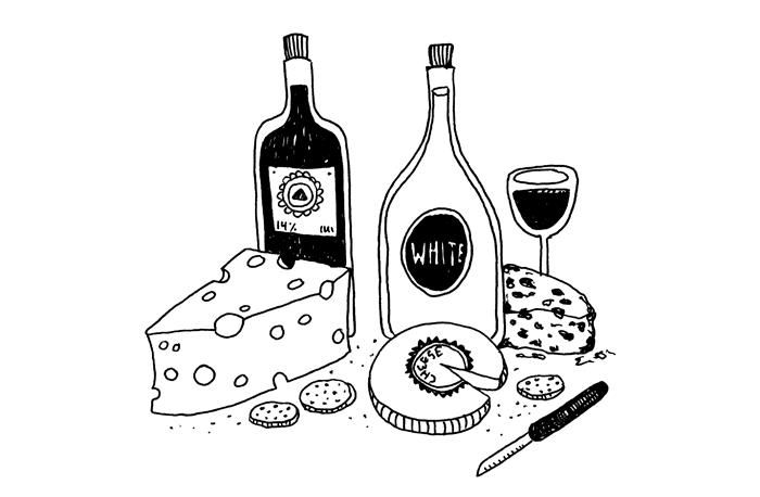 Kombinera vin med mat och ost sa lojligt enkelt ar det